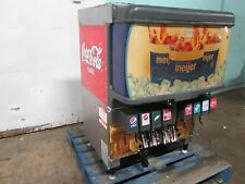 """Cornelius Df250Bcz"" Hd Commercial Lighted 8 Flavors Soda w/Ice Dispenser (Nsf)"