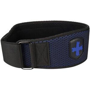 "Harbinger HexCore 4.5"" Weight Lifting Belt - Blue"
