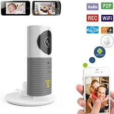 HD 720P WIFI Security IP Camera Monitor Detection Voice Intercom Gray Clever Dog