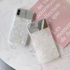 Claro caso Lindo Espejo Para iPhone Cool cubierta de moda X XS XS Max XR 6 6S 7 8 Plus