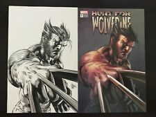 Hunt for Wolverine #1 Mike Deodato Virgin Variant set NM 9.4 Marvel 2018 Unread