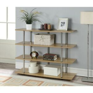 Convenience Concepts Designs2Go XL Highboy TV Stand, Light Oak - 131372LO