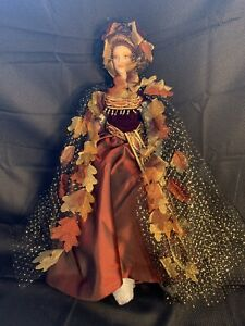 """Bob Mackie Legendary Beauty Collection-Autumn 22"""" Porcelain Doll With COA -OHF"""