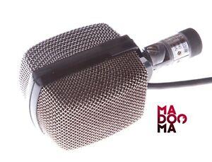 AKG D12 60 Ohms Vintage Bass Drum Microphone D 12 XLR FULL BASS #14458