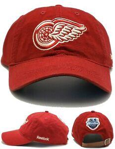 Detroit Red Wings New Reebok Winter Classic Big House Red Strapback Era Hat Cap