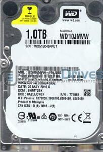 WD10JMVW-11AJGS2, DCM SHMT2BK, Western Digital 1TB USB 2.5 Hard Drive