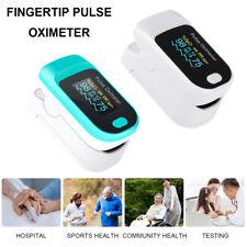Portable Finger Pulse Oximeter Blood Oxygen Saturation Meter Monitor NEW