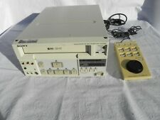 SONY SVO-9500MD MEDICAL VIDEOCASSETTE VHS RECORDER PLAYER+REMOTE SVRM-100