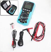 Digital Multimeter Volt Amp Ohm Temp Capacitance Tester HandHeld Car Automotive