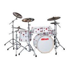 dDrum Hybrid 5 Player Series White Strap Finish Drum Set (HYBRID 5 PLAYER WHT)