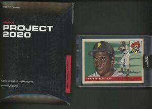 2020 Topps Project Roberto Clemente Naturel 1955 RC Retro w/ Box