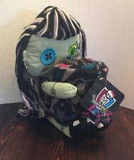 """Monster High 40""""x50"""" FLEECE THROW & 10.5"""" FRANKIE STEIN DOLL Set NEW WITH TAGS"""