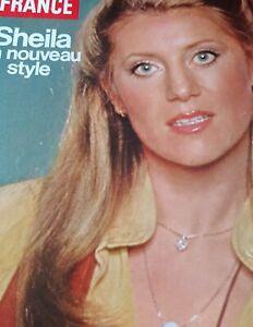 Sheila article du Jour de France. Articles 7 pages. 1980.
