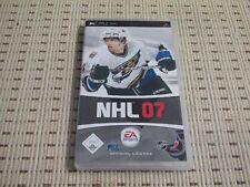 NHL 07 pour sony psp * OVP *