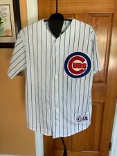 Chicago Cubs KERRY WOOD #34 Signed Pinstripe Jersey With COA ~Size Medium