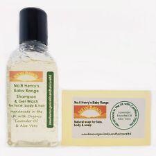 Cradle cap ~ organic baby soap & shampooing sample pack pour feuilletée/écailles/rouge cuir chevelu