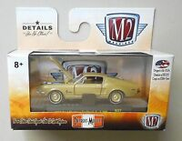1968 GOLD FORD MUSTANG FASTBACK M2 Machines DETROIT-MUSCLE Diecast 1/64 R37