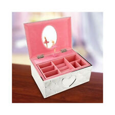 LENOX Childhood Memories BALLERINA JEWELRY MUSIC BOX NEW