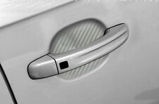 4x Adhesive Car Door Handle Paint Scratch Protection Film Vinyl Sticker Silver