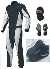New Go Kart Race Suit with Shoes & free gift Gloves, balaclava