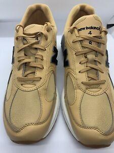 Rare Men's New Balance Yellow Sneakers Running Walking Shoes ML498KBD Size 11.5