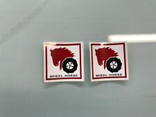 Wheel Horse Decals