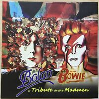 Marc Bolan & David Bowie Tribute to the Madmen 3x CD box + tribute 60's CD Italy