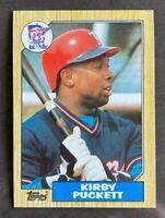 1987 Topps Kirby Puckett #450 - Minnesota Twins - HOF - MINT