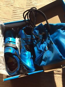 Shimano SH-XC90B Size 42.5 Carbon Cycling Shoe Blue
