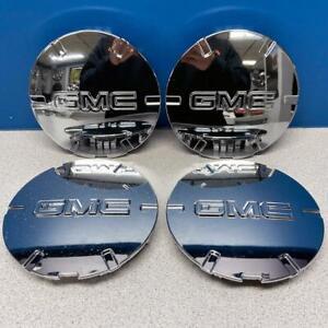 "2010-2015 GMC Terrain # 5510 Center Caps 19"" 6 Spoke Chrome Wheel 9597571 SET/4"