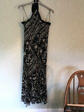 M&S Autograph black and stone evening dress size 18