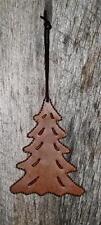 Primitive Looks Like Rusty Tin  Small  Hanging Christmas Tree Ornament