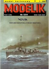 Card Model Kit – Tsarist Destroyer Novik