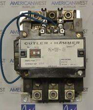 CUTLER HAMMER C31JN30 3P 600V 120 AMP LIGHTING CONTACTOR 48 vdc COIL - TESTED