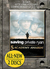 Saving Private Ryan (DVD, 2004, 2-Disc Set, D-Day 60th Anniversary Commemorative Edition)