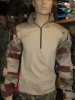 Chemise UBAS Camo Daguet Armée Française t. XL combat shirt camouflage désert