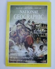 National Geographic Magazine January 1986 CM Russell Cowboy Artist