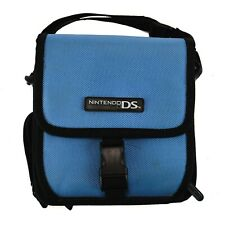 Game Boy Nintendo DS Carrying Case Blue A.L.S. Shoulder Bag Old School Vintage