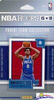 Philadelphia 76ers 2015/16 Panini Hoops Factory Sealed Team Set-Jahlil Okafor RC