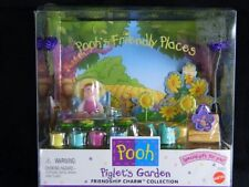 Pooh's Friendly Places Piglet's Garden New in Box 1999 Friendship Charm Included