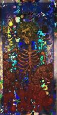 GRATEFUL DEAD SKULL AND ROSES Limited edition print foil MATT DYE BLUNT GRAFFIX
