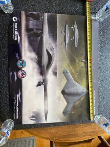 Pratt Whitney Military Posters  Lot Of 3
