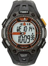 TIMEX T5J641 Mens IRONMAN TRIATHLON SOLAR Shock Running Watch with Indiglo NEW