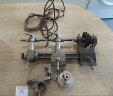 QUALITY ANTIQUE WATCHMAKERS LATHE / TOOL