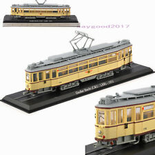 1/87 Diecast Atlas GroBer Hecht C&ULHB Trolley 1931 Retro Vehicles Tram Car Base