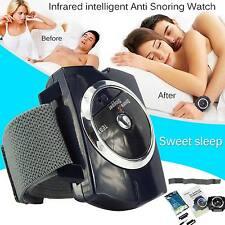 Nueva Pulsera Anti Ronquidos Snore Stopper dejar roncar Infrarrojo Dispositivo Inteligente