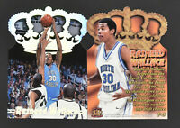 (10) 1995 Pacific Prism Platinum Crown Die Cut Rasheed Wallace #P-5 RC Lot Mint