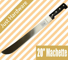 "Good Quality Machete Survival 20"" 50CM Blade 63cm overall Bush Hunting Camping"