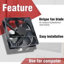 Black USB Cooling Fan Silent Computer Case PC CPU DC 5V 120 x120 x25mm Brushless