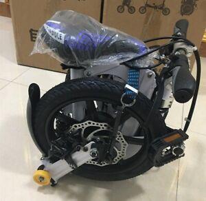 "14"" Fashion Portable Single Speed Folding Bicycle Mini Foldable Bike"